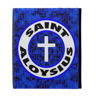 Saint Aloysius iPad Folio Cases