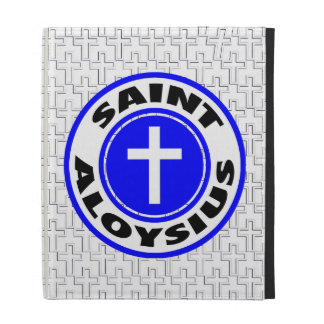 Saint Aloysius iPad Folio Case