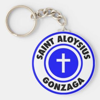 Saint Aloysius Gonzaga Keychain