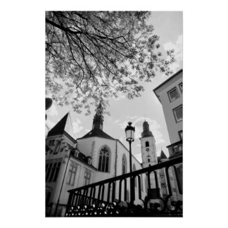 Saint Alphonse church in Luxembourg city Poster