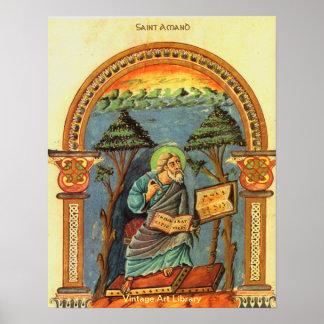 Saint Amand Poster