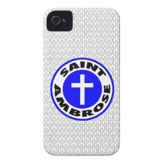 Saint Ambrose iPhone 4 Cover