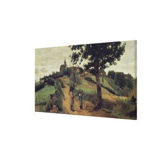 Saint-Andre-en-Morvan, 1842 Canvas Print
