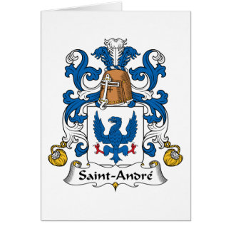 Saint-Andre Family Crest Card