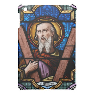 Saint Andrew (Apostle Andrew) Stained Glass Art iPad Mini Cover
