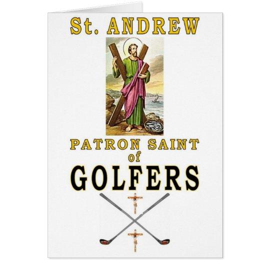 SAINT ANDREW CARD