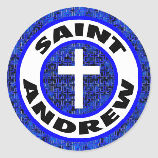 Saint Andrew Classic Round Sticker