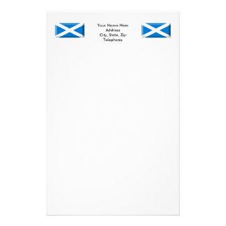 Saint Andrew Flag of Scotland Jewel Stationery