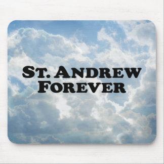 Saint Andrew Forever - Basic Mouse Pad