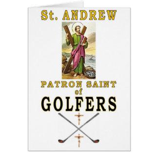 SAINT ANDREW GREETING CARD