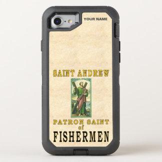 SAINT ANDREW (Patron Saint of Fishermen) OtterBox Defender iPhone 7 Case