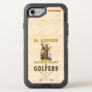 SAINT ANDREW (Patron Saint of Golfers) OtterBox Defender iPhone 7 Case