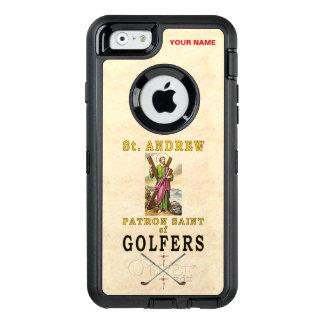 SAINT ANDREW (Patron Saint of Golfers) OtterBox Defender iPhone Case