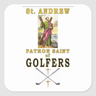 SAINT ANDREW SQUARE STICKER