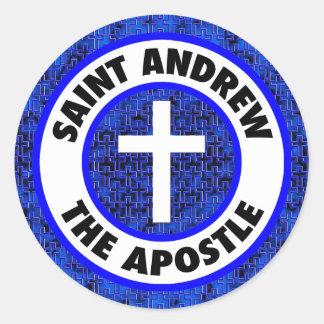 Saint Andrew the Apostle Classic Round Sticker