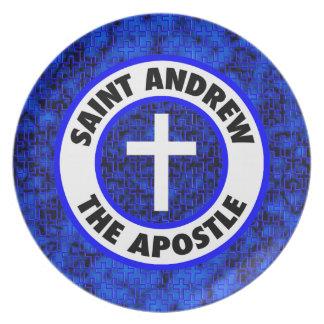 Saint Andrew the Apostle Melamine Plate