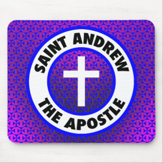 Saint Andrew the Apostle Mouse Pad