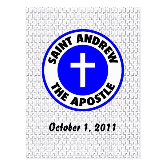 Saint Andrew the Apostle Postcard