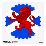 Saint Andrews cross , Rampant lion Wall Skin