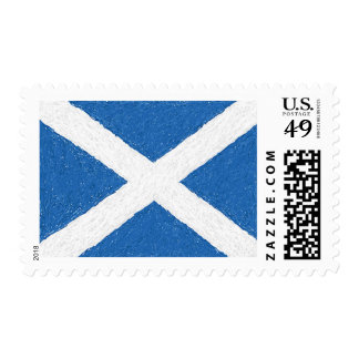 Saint Andrew's Cross (Scottish Flag) Postage