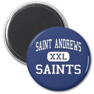 Saint Andrews Saints Middle Columbia Refrigerator Magnet