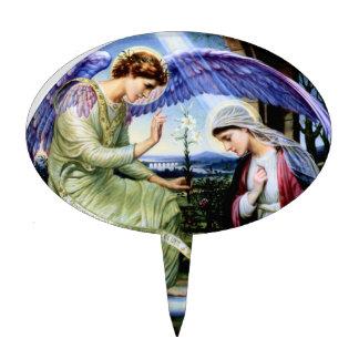 Saint Angel Religion Christianity Cake Picks