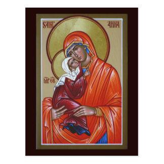 Saint Anna Prayer Card