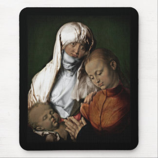 Saint Anne Admiring Baby Jesus Mouse Pad