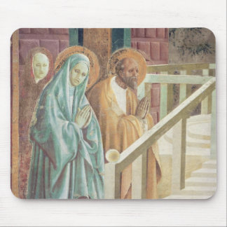 Saint Anne and Joachim at the Presentation of Mouse Pad