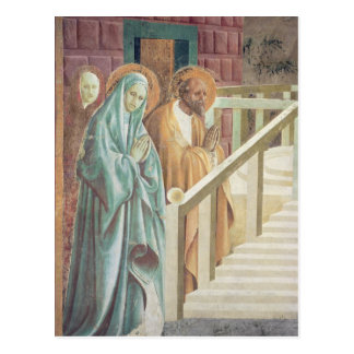 Saint Anne and Joachim at the Presentation of Postcard