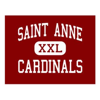 Saint Anne - Cardinals - Community - Saint Anne Postcard