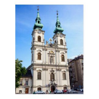 Saint Anne Church in Budapest Postcard