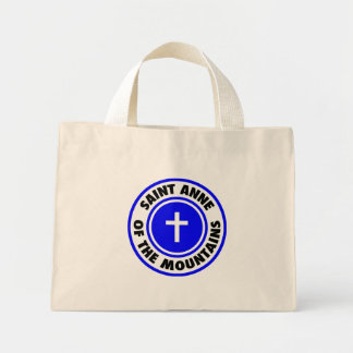Saint Anne of the Mountains Mini Tote Bag