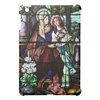 Saint Anne Stained Glass Art iPad Mini Cover