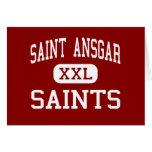 Saint Ansgar - Saints - Middle - Saint Ansgar Iowa Greeting Card