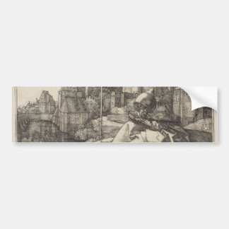 Saint Anthony by Albrecht Durer Bumper Sticker