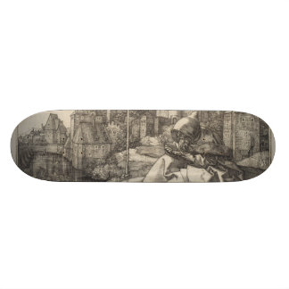 Saint Anthony by Albrecht Durer Skateboard Deck