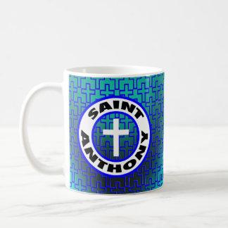 Saint Anthony Classic White Coffee Mug