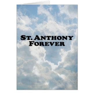 Saint Anthony Forever - Basic Card