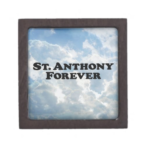 Saint Anthony Forever - Basic Premium Trinket Box