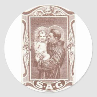 Saint Anthony Guide Stickers