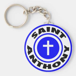 Saint Anthony Keychain