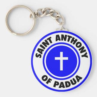 Saint Anthony of Padua Keychain