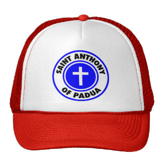 Saint Anthony of Padua Trucker Hat