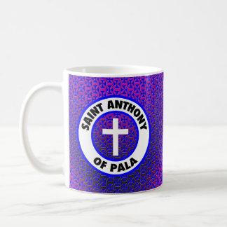 Saint Anthony of Pala Classic White Coffee Mug