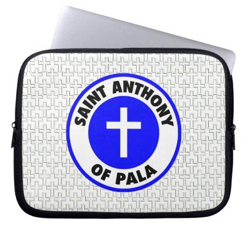 Saint Anthony of Pala Computer Sleeve