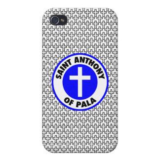 Saint Anthony of Pala iPhone 4 Case