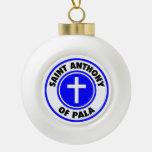 Saint Anthony of Pala Ornament