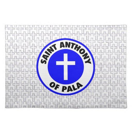 Saint Anthony of Pala Placemat
