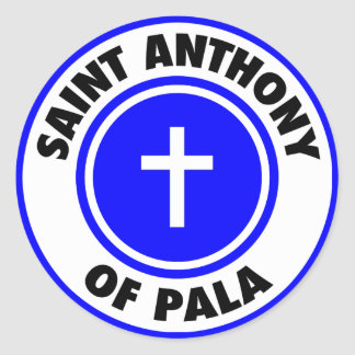 Saint Anthony of Pala Sticker